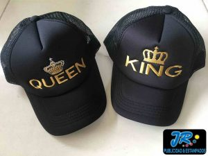 GORRA BORDADA KING