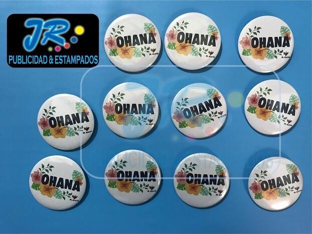 botones promocionales una colección