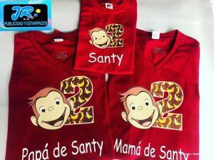 camiseta personalizada papa santy