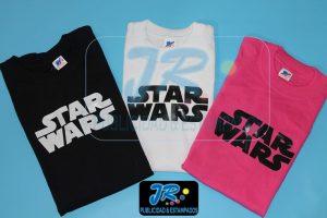 camiseta personalizada star wars