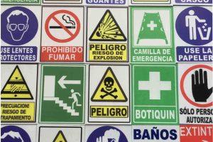 señalización riesgos laborales