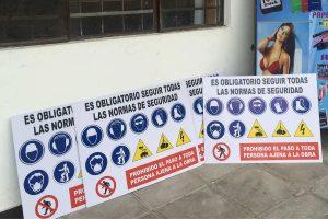 señalización industrial bucaramanga