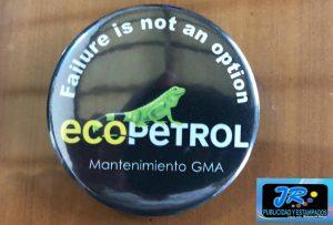 botones ecopetrol personalizados bucaramanga