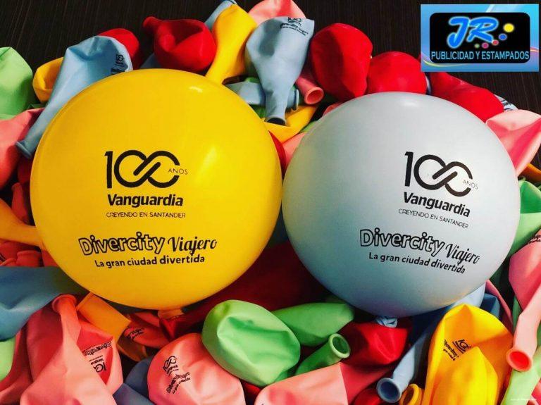 globos 100 años vanguardia