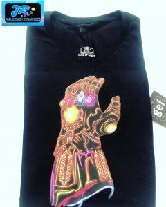 guante del infinito camisetas personalizadas