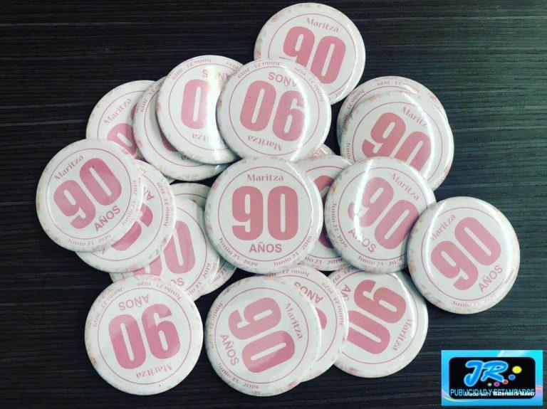 botones maritza 90 años