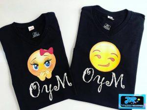 camisetas personalizadas o y m