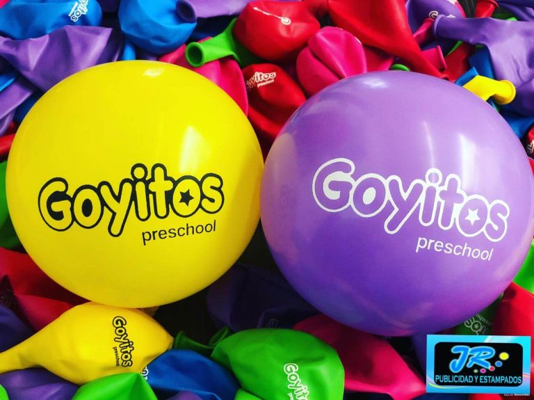 globos personalizados goyitos preschool