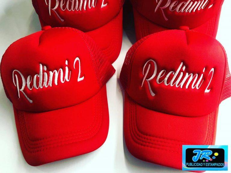 gorras personalizadas redimi 2