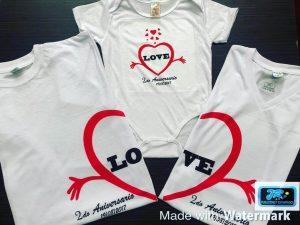 camiseta personalizada amor de familia