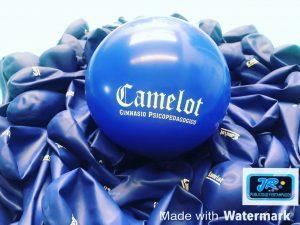 globos personalizados camelot gimnasio psicopedagogico