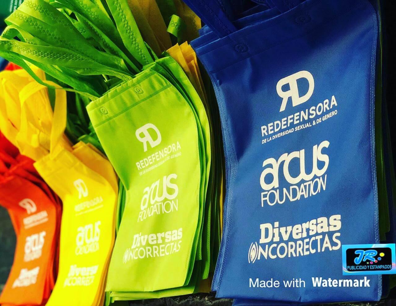 bolsas ecologicas redefensora de la diversidad sexual y de genero