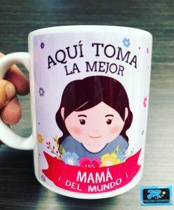 mugs personalizados aquí toma la mejor