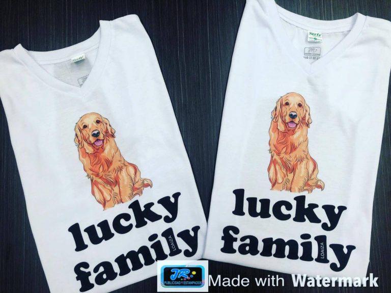 lucky family camisetas personalizadas