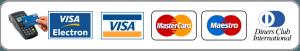 se reciben todas las tarjetas crédito y débito