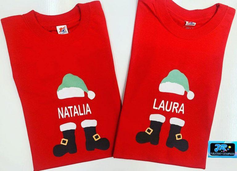 camisetas navideñas bucaramanga