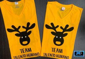 equipo talento humano camisetas personalizadas para empresas en navidad