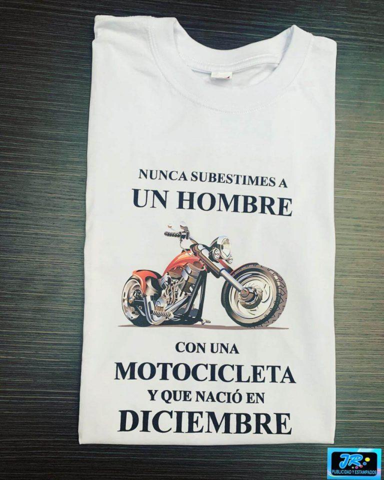 camisetas personalizadas hombres y motocicletas