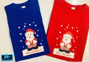 camisetas personalizadas navideñas merry christmas
