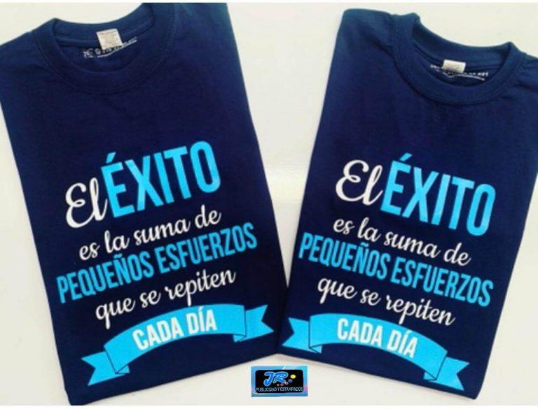 camiseta personalizada frases motivadoras