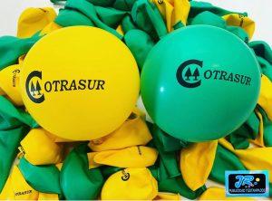 globos personalizados cotrasur