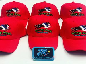 gorras personalizadas play dog