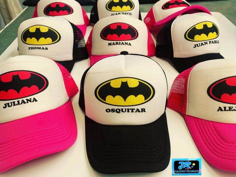 gorras personalizadas batman