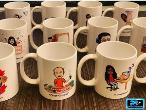 mugs personalizados tema profesiones