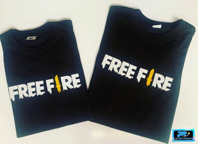 camisetas personalizadas free fire