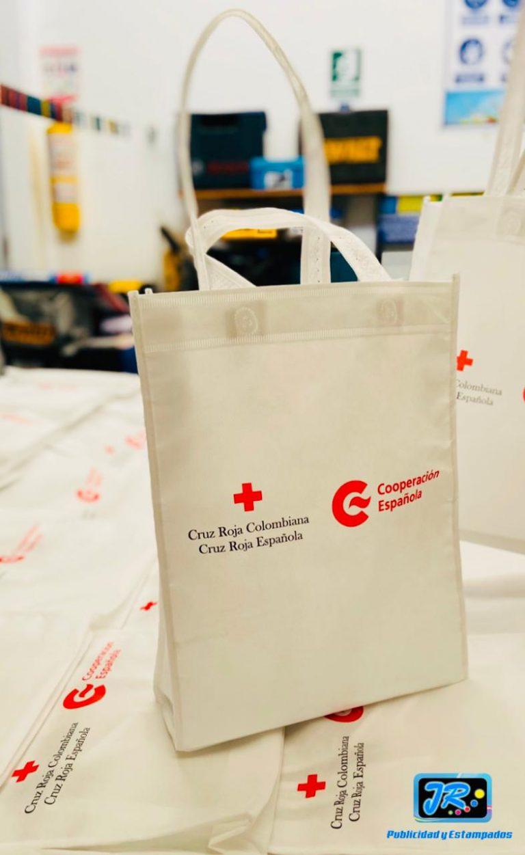 bolsas ecológicas cruz roja colombiana
