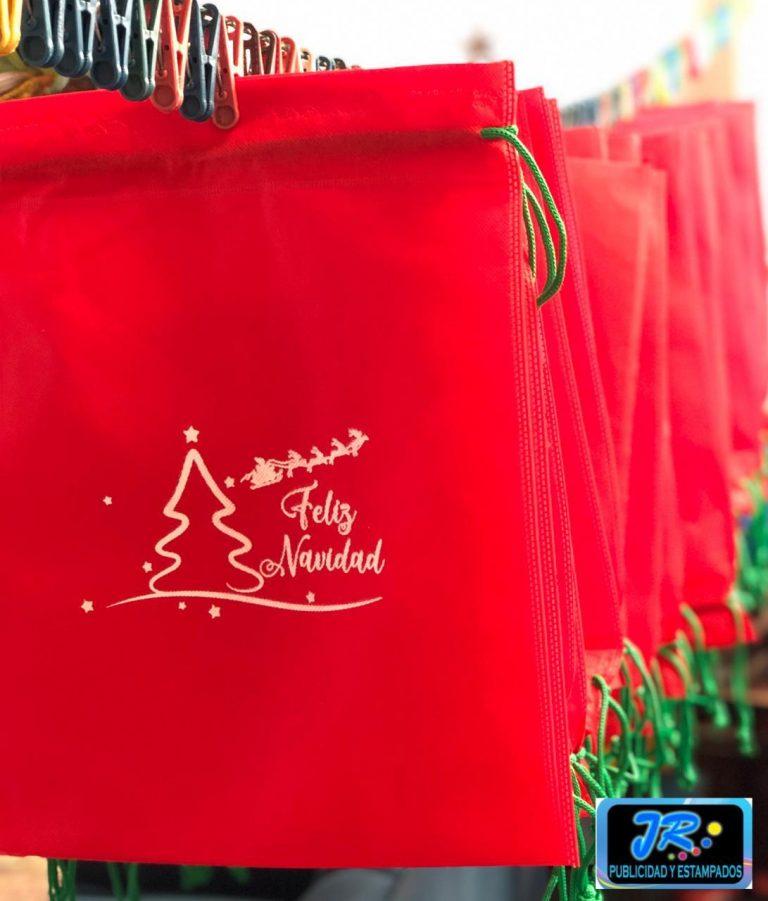 bolsas ecologicas de feliz navidad 2020