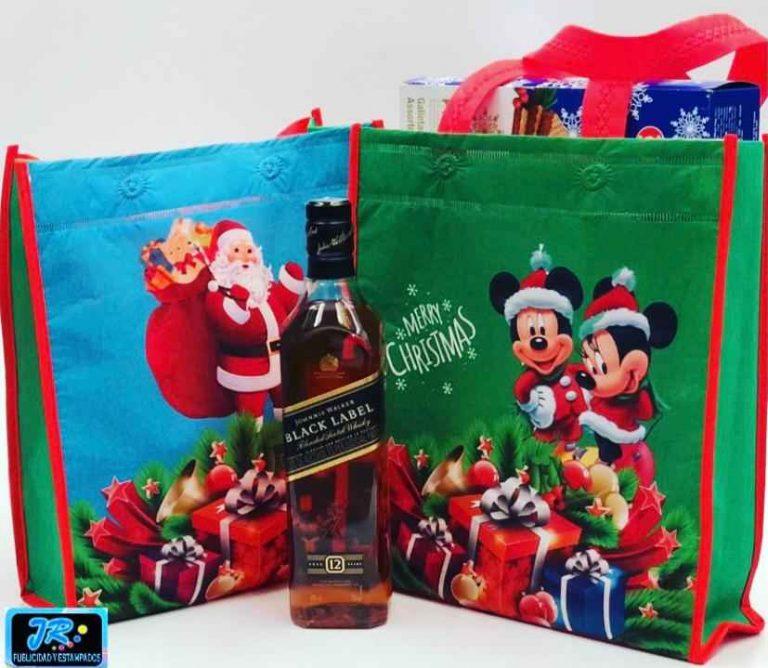bolsas ecologicas navideñas y para navidad