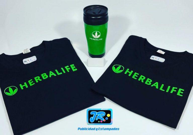 camisetas personalizadas Herbalife