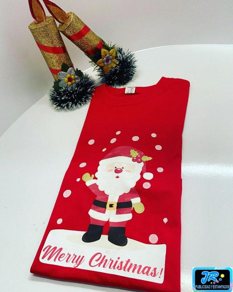 camisetas personalizadas merry christmas camisetas para la navidad
