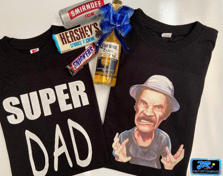 camisetas personalizadas super papa don ramon