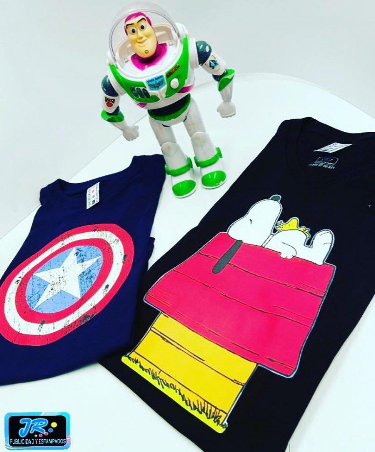camisetas personalizadas temáticas para niños