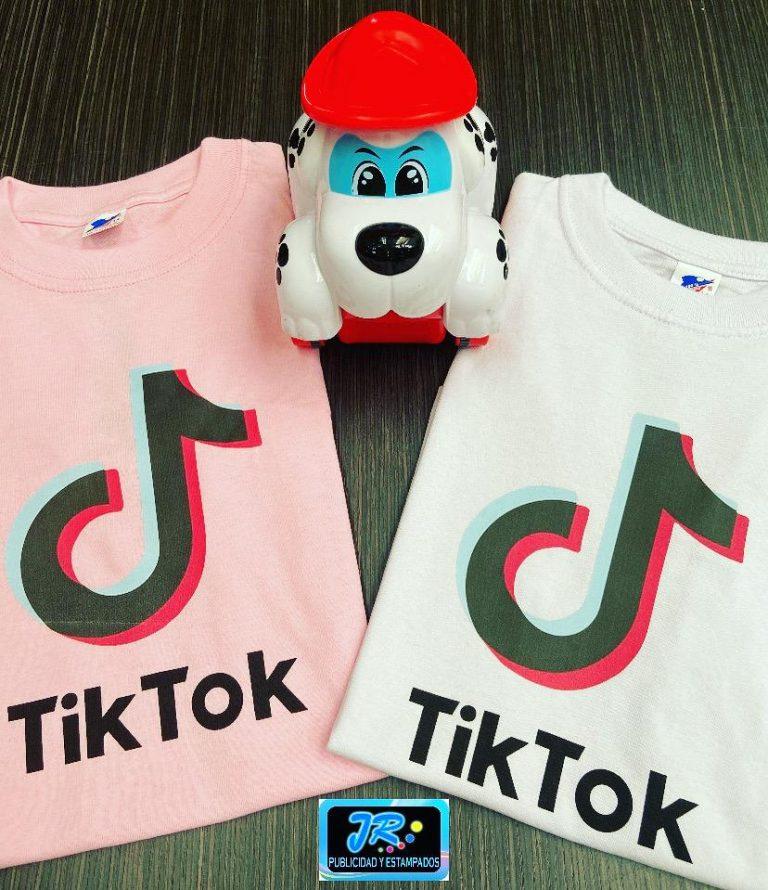camisetas personalizadas tiktok