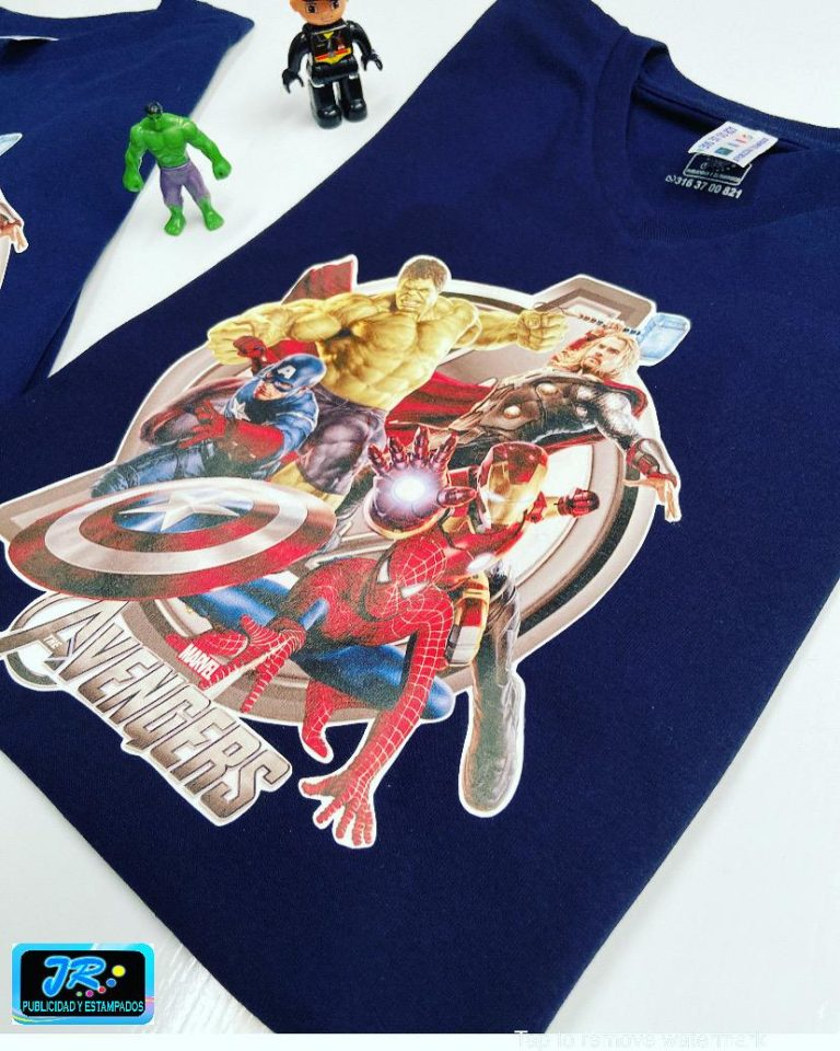 estampados personalizados avengers