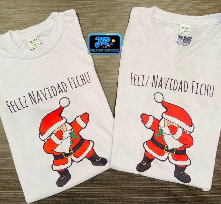 feliz navidad fichu camisetas personalizadas