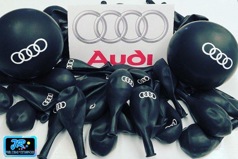 globos personalizados automóviles marca audi