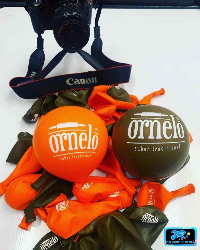 globos personalizados ornelo sabor tradicional