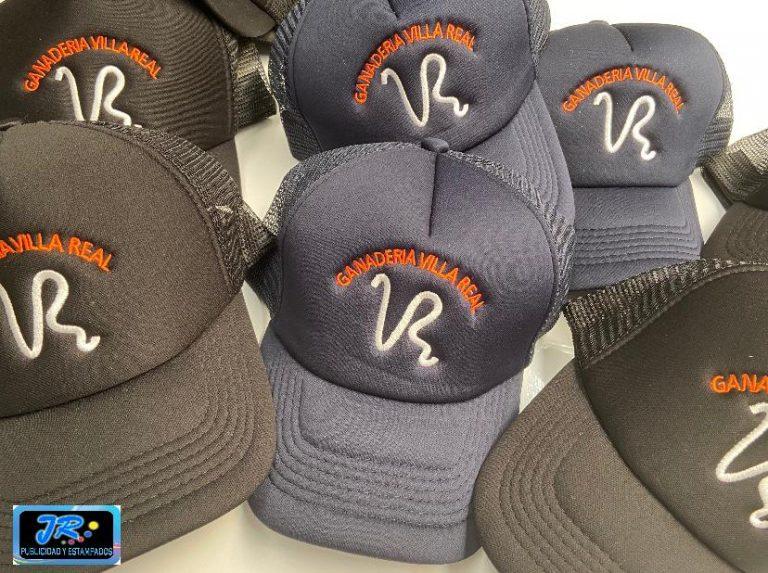 gorras personalizadas ganaderia villarreal