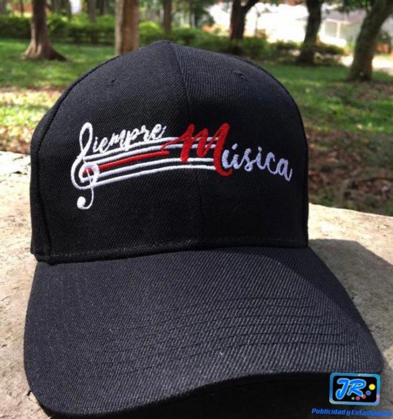 gorras personalizadas siempre música
