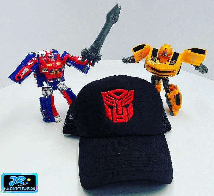 gorras personalizadas transformes