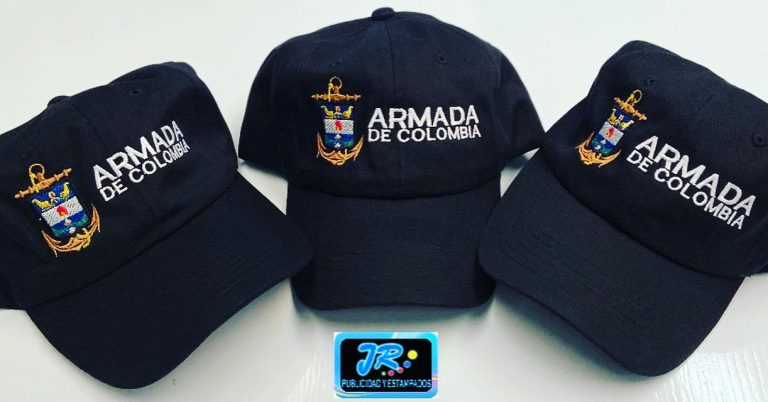 gorras personalizadas armada de colombia