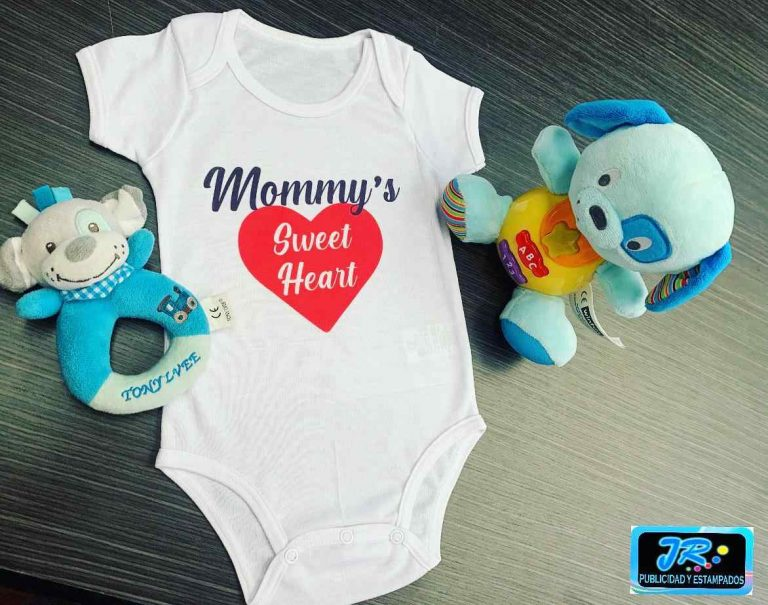 mommy sweet heart mamelucos personalizados