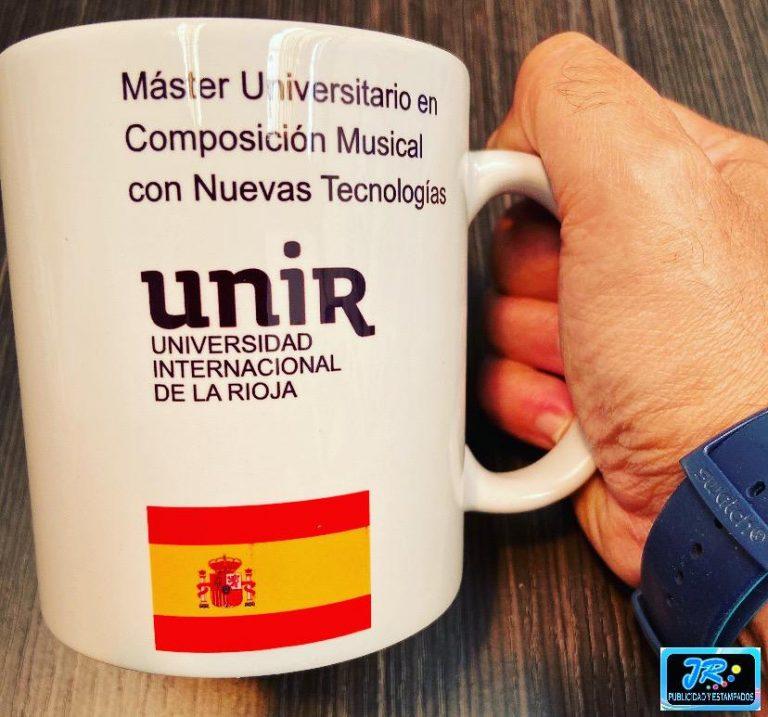 mug personalizado unir universidad internacional de la rioja