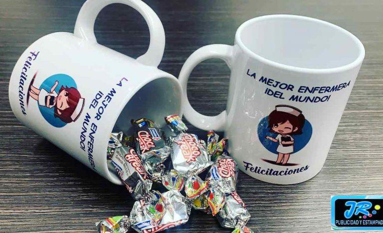 mugs personalizado la mejor enfermera del mundo