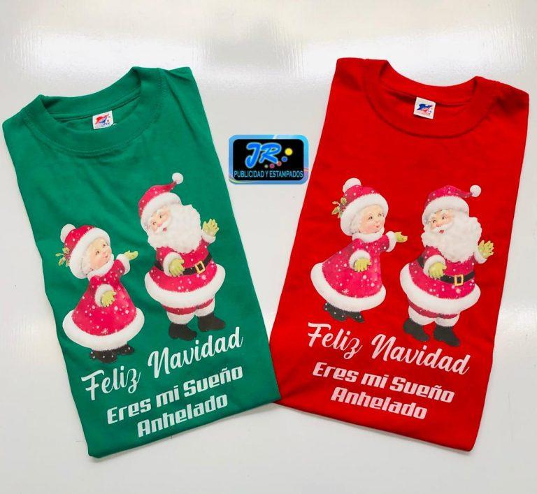 camisetas personalizadas feliz navidad eres mi sueño anhelado