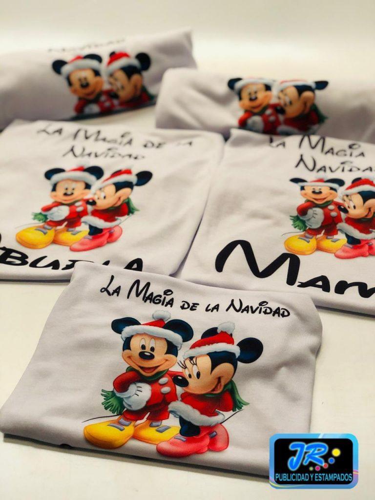 camisetas personalizadas la magia de la navidad